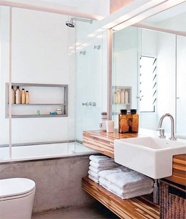 Tudo sobre o box do seu banheiro  Simples Decoracao  Simples Decoração -> Banheiro Compacto Com Banheira
