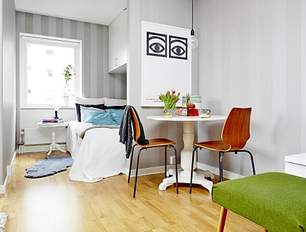 Ideias diferentes para um apartamento pequeno Simples Decoracao Simples Decoraç u00e3o