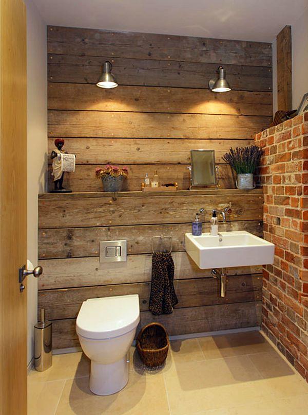 Estilo Industrial no Lavabo  10 ideias  Simples Decoracao  Simples Decoração -> Decoracao De Banheiro Estilo Rustico