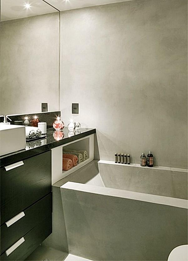 #474658 Banheiro Pronto Com Banheira Liusn.com Obtenha uma  600x833 px modelo de banheiro simples e pequeno