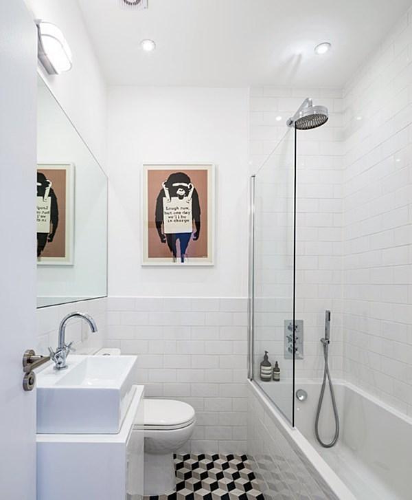 #474574 20 banheiros pequenos com banheiraSimples Decoracao  600x727 px banheira pequena simples