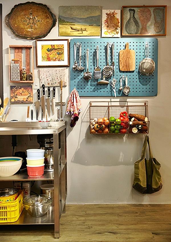 Como conseguir espaço para organizar  Na CozinhaSimples Decoracao  Simples # Decoracao Cozinha Rita Lobo