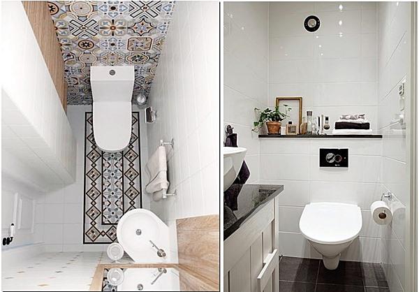 20 lavabos pequenos e estreitos simples decoracao for Fotos lavabos pequenos