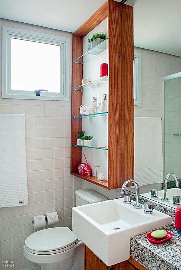 20 ideias econ micas para reformar seu banheiro pequeno simples decoracao simples decora o - Economic bathroom designs ...