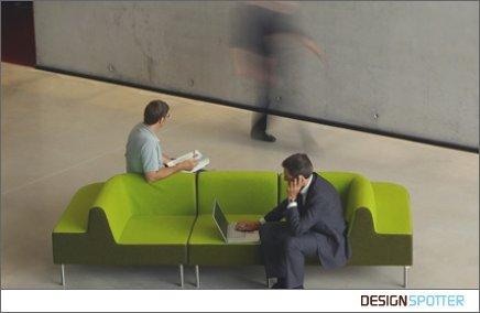 sofá verde Simples Decoracao