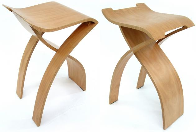 Flow Stool by Kenneth Youngcontemporistdpotcom
