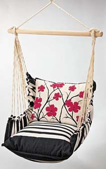 FurnitureFashionredehammock-chair-for-the-garden-or-patio1