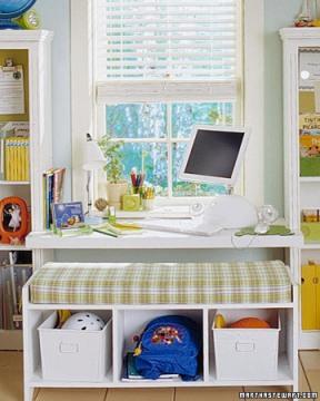 cantinho criança home office