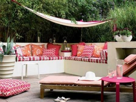 jardim sofá alvenaria
