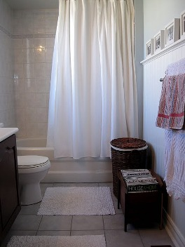 banheiro cortina