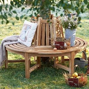 jardim banco madeira