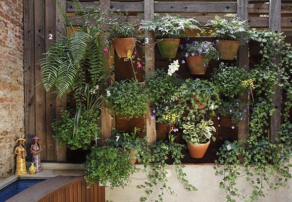 jardim ou na varanda