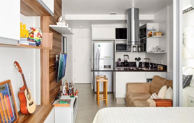 Apartamentos bem pequenos