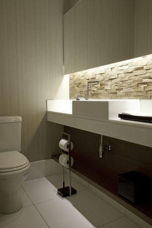 iluminação embutida - Banheiro