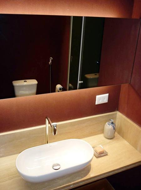 Detalhes no banheiro