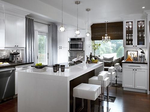 cozinha grande branca