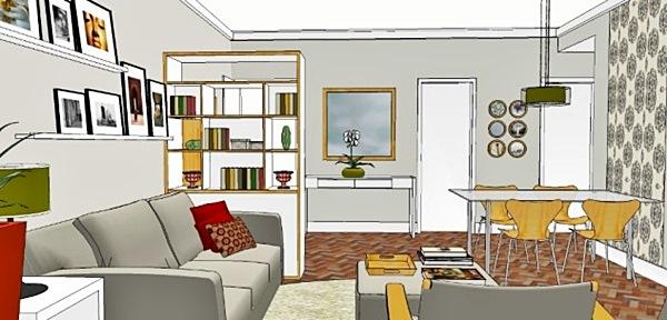 A sala da Katia - projeto