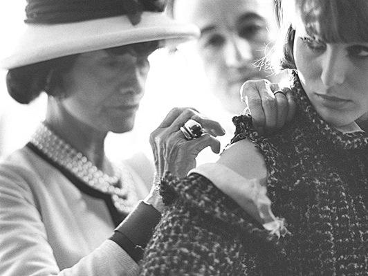 As estampas na decoração -Chanel