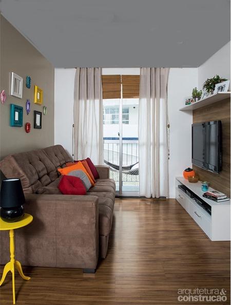 Fazendo o apartamento pequeno parecer maior