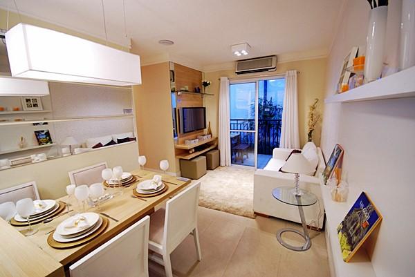 Boas ideias em Apartamentos pequenos Decorados