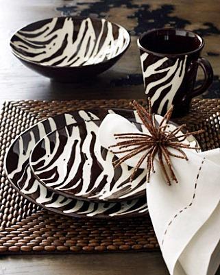 estampas na decoração - animal print