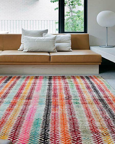design Milk Colorful-Rug-Loom-Old-Yarn-Wheat