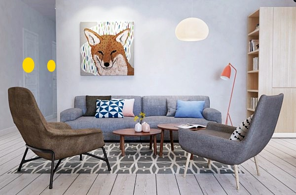 home-designing fox-wall-art