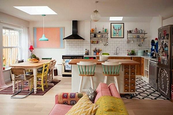 cozinha ambiente integrado sala