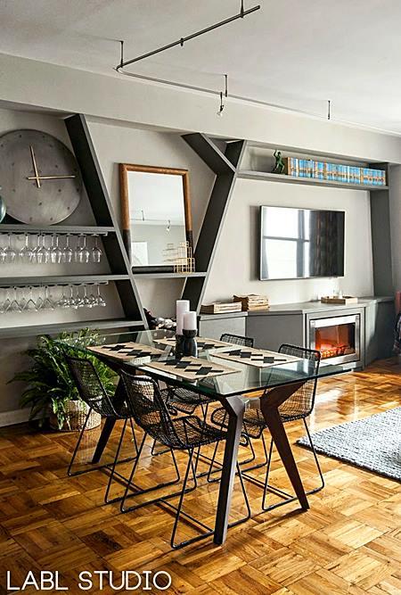 sala de jantar ambiente pequeno