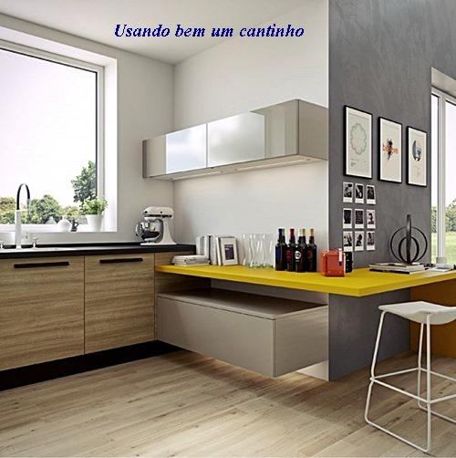 home-designing yellow-countertop