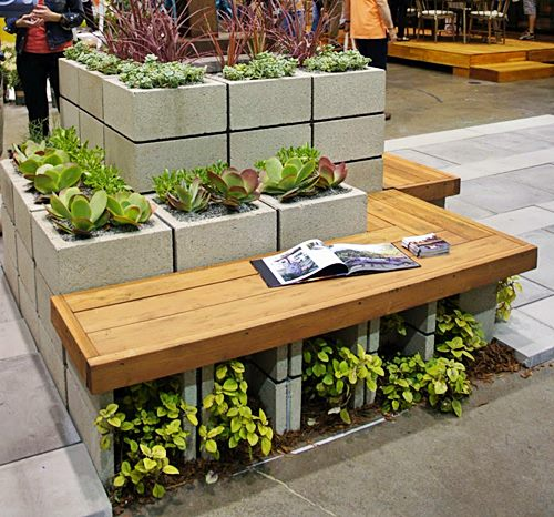 VM DesignbloggCinder-Block-Succulent-Planter-with-Integrated-Bench