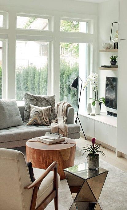 mesa de centro - apoio - lateral - sala de estar