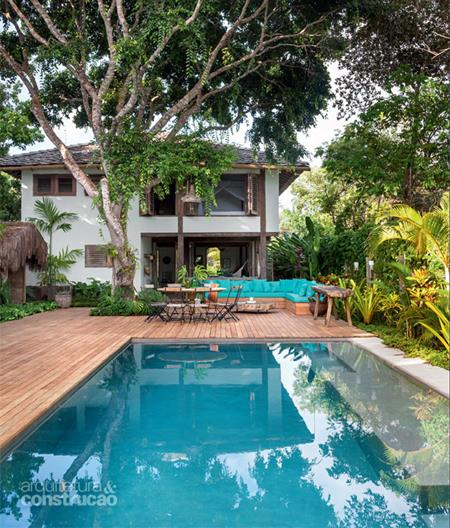 casa veraneio piscina