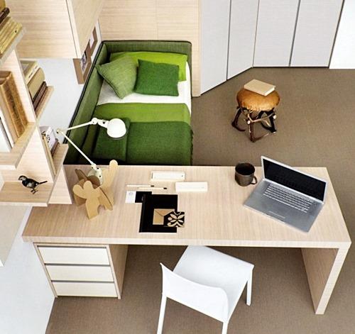 home-designingGreen-white-beech-bedroom-study-665x627