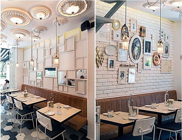 ideia para restaurante e bar