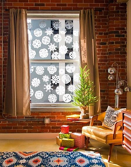 apartment papersnowflake_7_windowcover