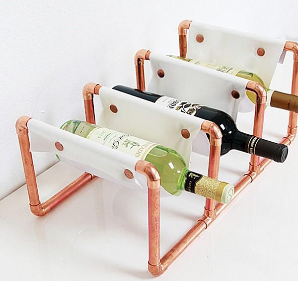 porta garrafas vinho faça vc mesmo
