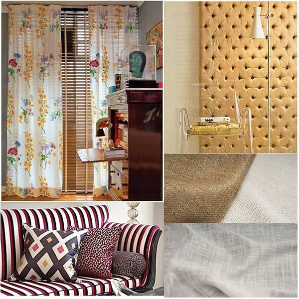 exemplos de uso da seda na decoração