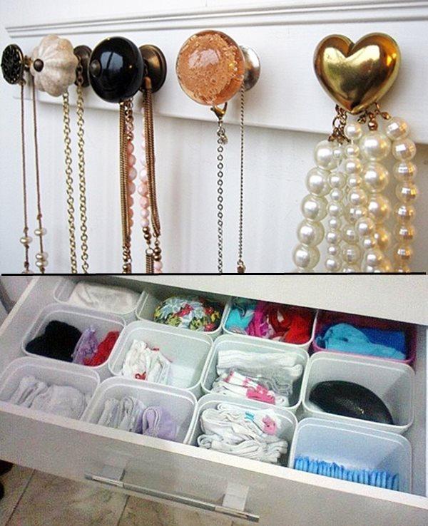 ideias par organizar o quarto