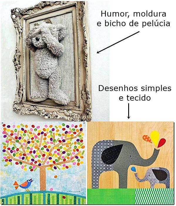 quadros com desenhos simples