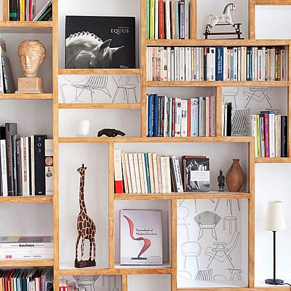 Estantes – Onde colocar e decorar