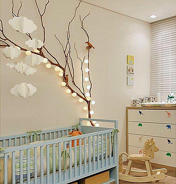 quarto bebe iluminacao