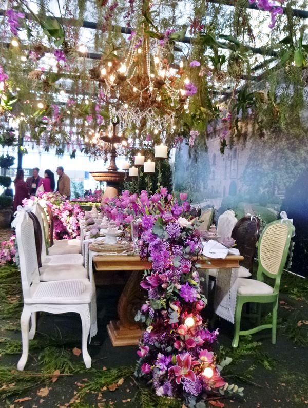 Enflor Garden Fair ambientes de festa
