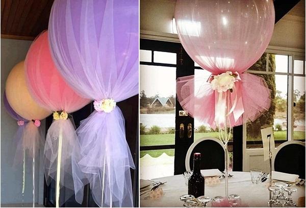decoração balões festa