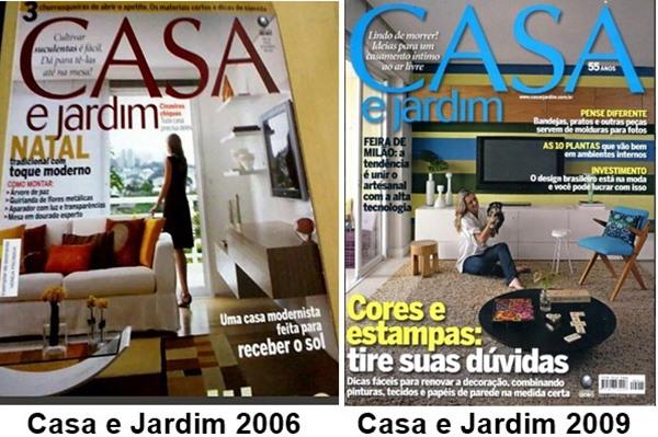 revistas 2006 e 2009