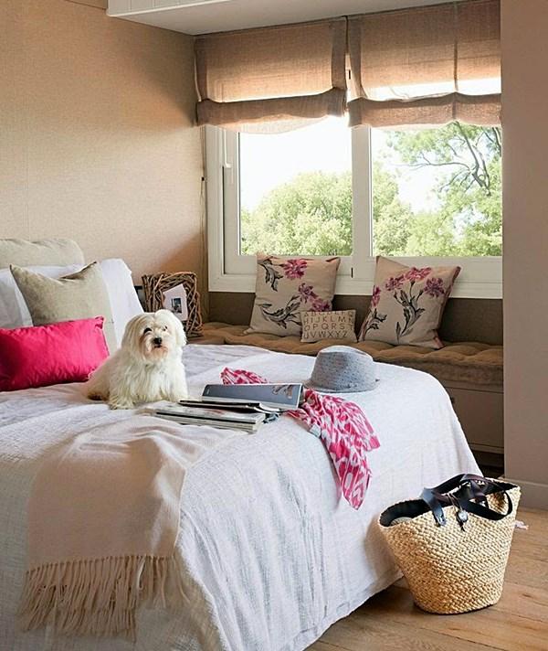 quarto pequeno romântico