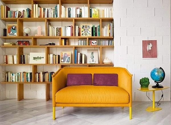 sofá e estante 1