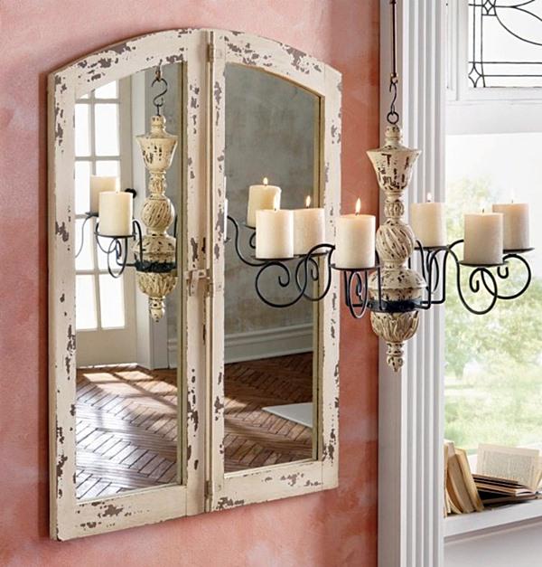 porta Garota CriatividadeUtilizando-janela-antiga-na-decoração-17
