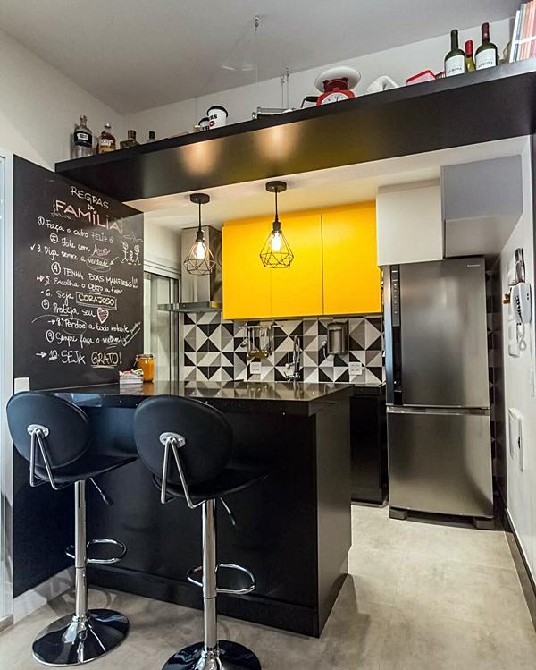 cozinha pequena industrial 8