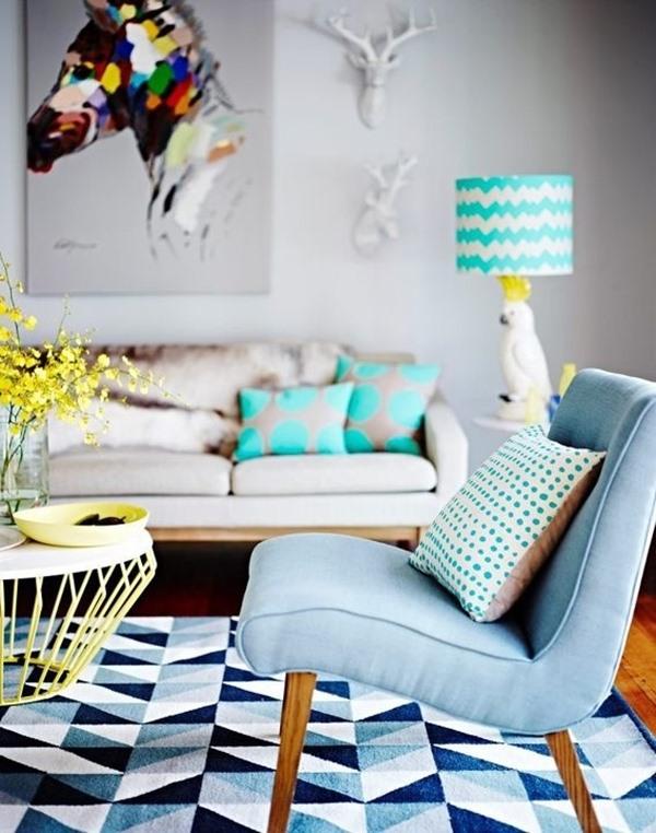 poltrona e sofá para sala pequena